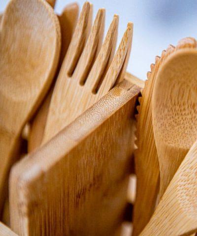 Ustensiles en bambou