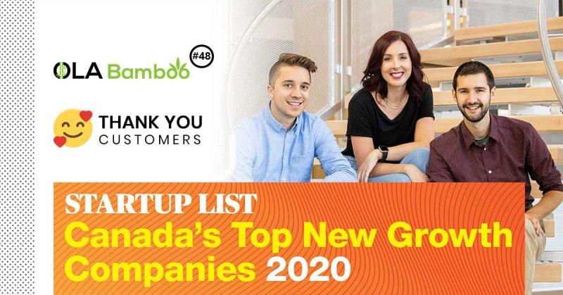 startup list 2020 - OLA Bamboo ranked at no 48