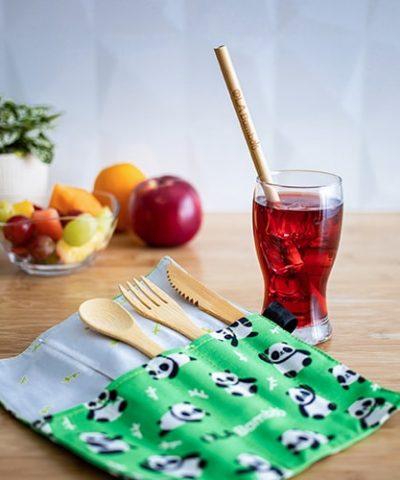 Travel cutlery set for children