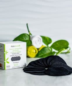 makeup remover pads -black